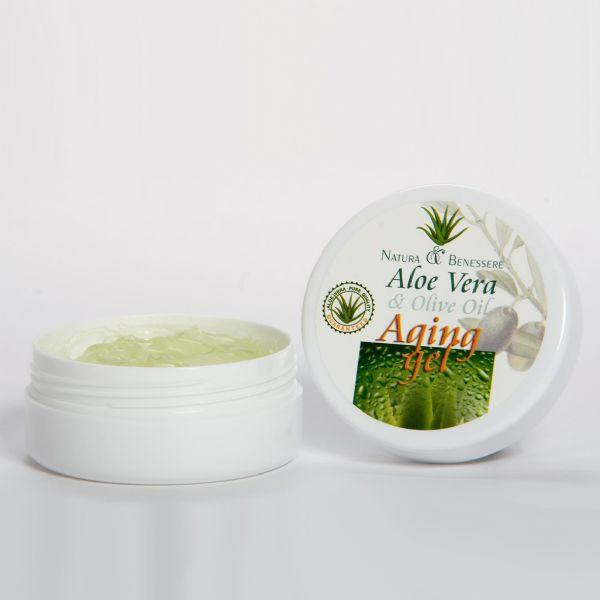 Anti Aging Gel Aloe Vera E Olive Oil N B