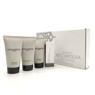 Welcome kit hotel Scent Company Milano SBCC